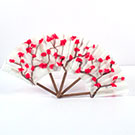 Japanese Cherry Blossom Coffee Filter Fan