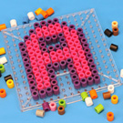 Practice ABCs with Melty Beads