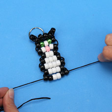 How to make a bead pet mascot