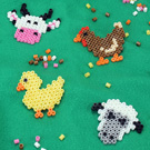 Melty Bead Farm Animals