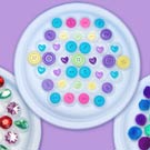 Bottle Cap Mandala Sensory Activity