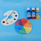 Learn about Types of Colors with a Color Wheel Craft
