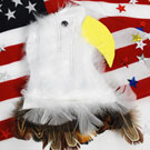 President's Day Bald Eagle Magnet