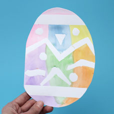 Easter Egg Card Kids Craft
