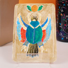 Egyptian Inspired Plaster Tile Relief