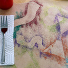 Glittered Placemat