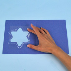 Handmade Hanukkah Card
