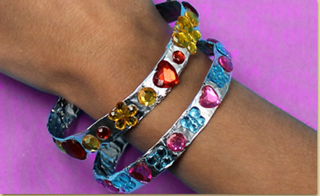 Jeweled Bangle Bracelet
