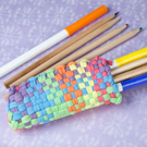Weaving Loom Pencil Holder