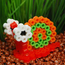 Melty Bead 3D Pet Snail