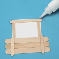 How To Make a Craft Stick Frame