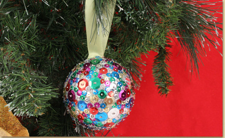 Sequin Ornament