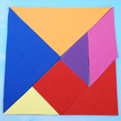 Magnetic Tangram - Make your own Puzzle Pieces!