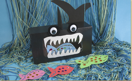 Tissue Box Shark