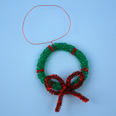 Craft a Christmas Wreath Ornament
