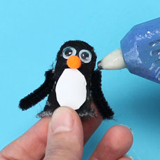 Penguin Finger puppet for kids