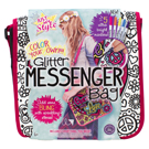 Just My Style™ Glitter Messenger Bag
