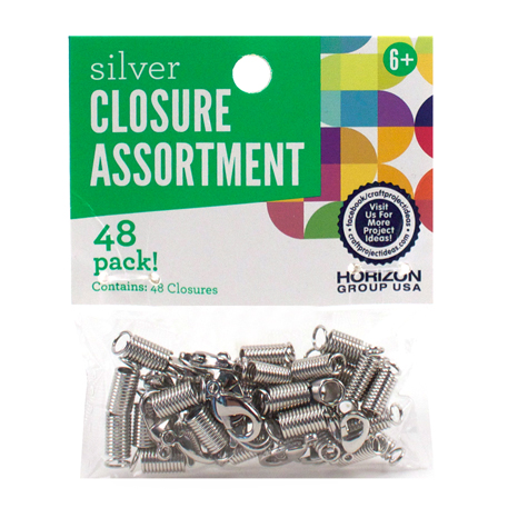 Silver Jewelry Closures