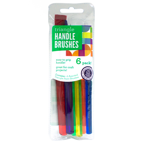 Paint Brushes Triangle Handle