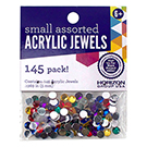 Acrylic Jewels Assorted 5mm