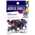 Acrylic Jewels Assorted 9mm