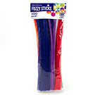 Rainbow Fuzzy Sticks