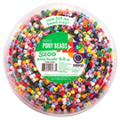 Mini Pony Beads Tub