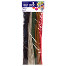 Dark Colored Fuzzy Sticks