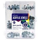 Acrylic Jewels Value Pack Silver
