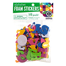 Bright Alphabet Foam Stickers