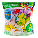 Dotty Letter Foam Stickers Value Pack