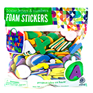 Poster Letter Foam Stickers