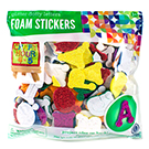 Glitter Foam Dotty Letter Stickers Value Pack