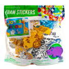 Zoo Foam Stickers