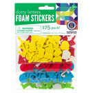 Dotty Letter Foam Stickers 175 Pack
