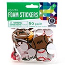Sport Foam Stickers