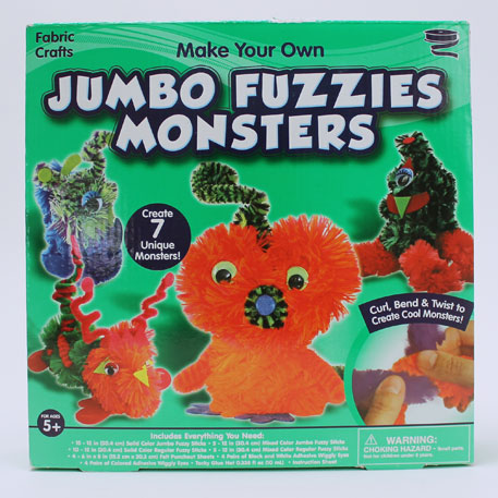Jumbo Fuzzies Monsters