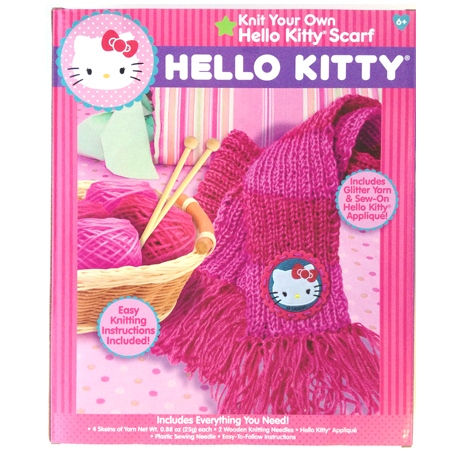 Hello Kitty® Knit Your Own Scarf