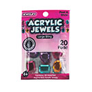 Acrylic Jewels Peel & Stick Large Bling