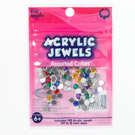 Acrylic Jewels 5mm Assorted Colors