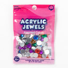 Acrylic Jewels 9mm Assorted Colors