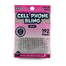 Cell Phone Bling Silver