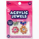 Acrylic Jewels Peel & Stick Flowers