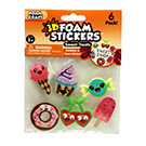 3D Foam Stickers Sweet Treats
