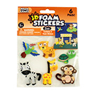 3D Foam Stickers Zoo