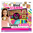Just My Style™ 2 in 1 Wood Stamps & Cutesy Cards