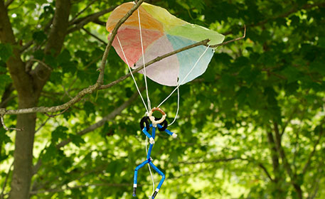 Coffee Filter Parachute