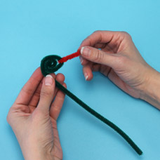 Kids Craft Project with Pipe Cleaners