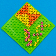 Spring Melty Bead Shapes - Craft Project Ideas
