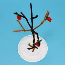 How to make a pipe cleaner sculpture